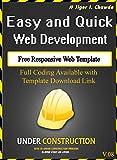 Responsive Web Template: V08 (English Edition)