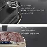 Big seller Vibrationsplatte Vibrierende und oszillierende Plattformen, schütteln Sie Maschine Fettes brennendes dünnes Gurthausfitnessgerät (Farbe : Messing) - 8