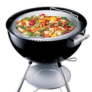 Weber 16130 Wok 47 Cm In Acciaio Inox Solo Per Barbecue