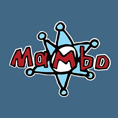 Mambo Star Logo Women's Sweatshirt Indigo Blue