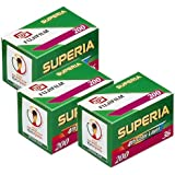Fujifilm Superia 200 135/36 Color Negative Film (Pack of 3)