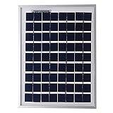 Panneau solaire SELLANDE monocristallin 5W - 12V...