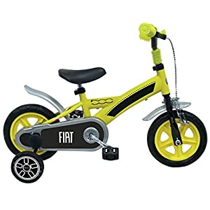 "5119H0qvm8L. SS300 Forever Toys 500120 - Bici 500 Bimbo 10"", Gialla"