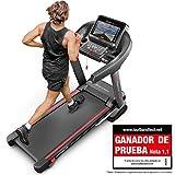 Sportstech Ganador de la Prueba* Cinta Correr Plegable F37 Profesional, Velocidad hasta 20 km/h,Sistema de amortiguación de hasta 150 kg, inclinación del 15%, App. para móviles, MP3 (F37 sin Montar)
