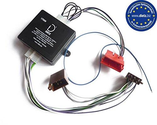 Dietz 17009 Aktiv interface Mini-ISO für Audi