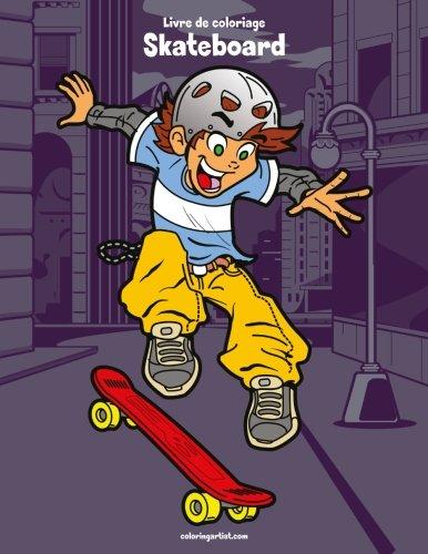 Livre de coloriage Skateboard 1: Volume 1 par Nick Snels