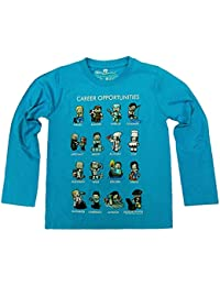 Mojang AB - Camiseta de manga larga - para niño