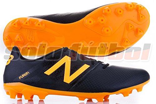 New Balance , Herren Fußballschuhe Black-Orange