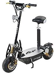 E-Scooter Roller Original E-Flux Freeride 1000 Watt 48 V mit Licht und Freilauf Elektroroller E-Roller in vielen Farben