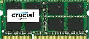 Crucial 8GB DDR3L 1600 MT/s (PC3L-12800) SODIMM 204-Pin - CT102464BF160B
