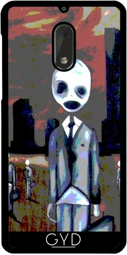 tArtists Hülle für Nokia 6 - Creepy Menschen by hera56 ()