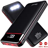 Gnceei Batterie Externe 25000mAh Power Bank Chargeur...