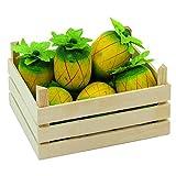 Goki 51669 - Kaufläden und Zubehör - Ananasfrüchte, Obstkiste