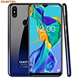 OUKITEL C15 Pro Dual 4G SIM Smartphone ohne Vertrag, 3GB RAM+32GB ROM,6.1 Zoll HD+ Waterdrop Display,Android 9.0,MT6761 Quad-core 2.0Ghz,8MP+2M+5MP Kameras,3200mAh, günstig Ultra dünn Handy -Gradient