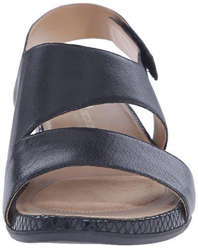 Naturalizer Yessica Femmes Large Cuir Sandale Black