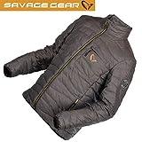 Savage Gear Simply Savage Lite Jacket - Angeljacke, Steppjacke für Angler, Jacke zum Streetfishing, Anglerjacke, Outdoorjacke, Größe:M