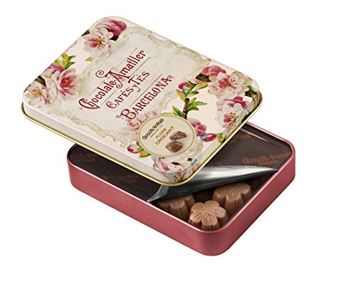 Bombones sin gluten de chocolate con leche crocant AMATLLER (4 cajas de 72 gr)
