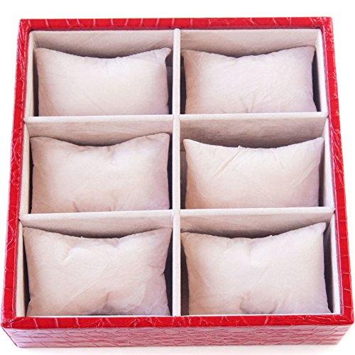 casella di gioielli di moda/Dial orologio da polso display vassoio/ scatola di immagazzinaggio di gioielli vassoio-A