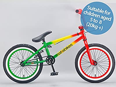 Mafiabikes BB Kush 16 inch Child's Kid's BMX Bike Rasta by Mafiabikes