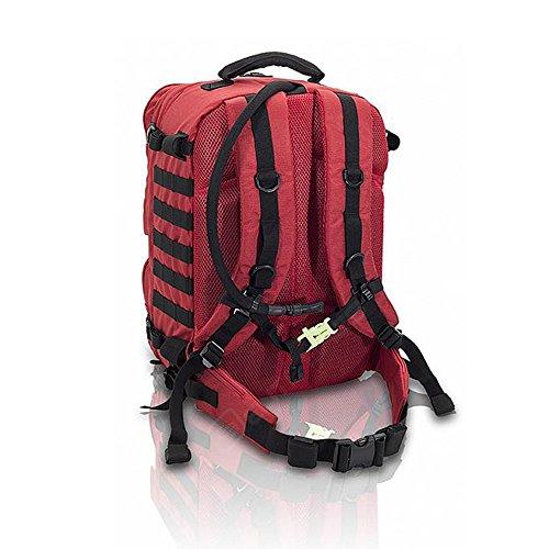 Elite Bags PARAMED'S EVO Notfallrucksack 32 x 47 x 23,5 cm in 2 Farben, Farben:Rot