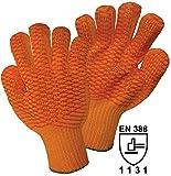 Griffy 1472sb Criss Cross Handschuh Kettensägen Acryl Größe Universal