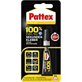 3x Pattex 100% Sekundenkleber flüssig 3g Tube
