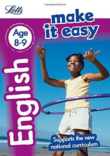 English Age 8-9 (Letts Make It Easy) por Letts KS2