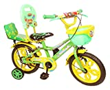 #5: NY Bikes Steel Delux 14T Kids' Bicycle, 14 Inches (Yellow and Green)