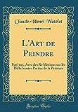 Telecharger Livres L Art de Peindre Poeme Avec Des Reflexions Sur Les Differentes Parties de la Peinture Classic Reprint (PDF,EPUB,MOBI) gratuits en Francaise
