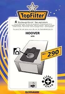 Fackelmann top filter lot de 4 sacs d'aspirateur n ° 290