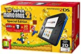 Nintendo 2DS Console, Nero/Blu + Super Mario Bros 2 [Bundle Special Edition]