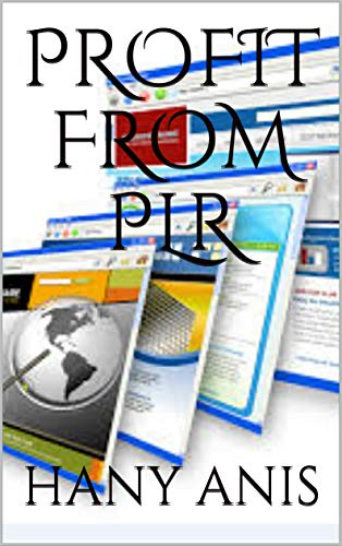 PROFIT FROM PLR (English Edition) eBook: HANY ANIS: Amazon.es ...