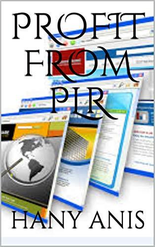 PROFIT FROM PLR (English Edition) eBook: HANY ANIS: Amazon.es ...