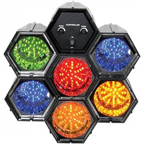 Lunatec Luci Psichedeliche LED 6 Canali