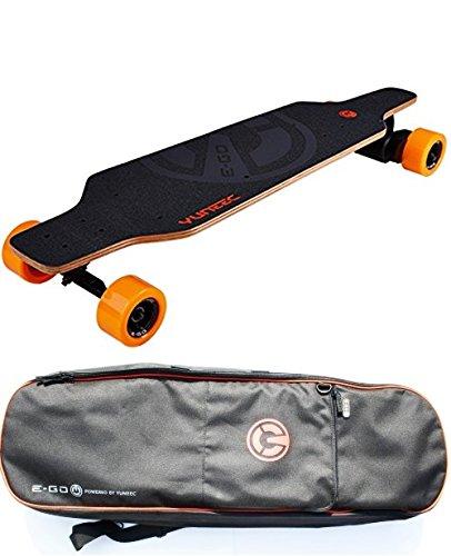 Yuneec Elektro-Skateboard E-GO Cruiser mit Tasche / Transporttasche