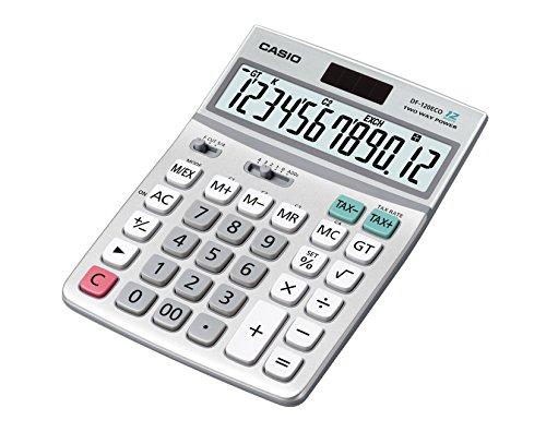 Galleria fotografica CASIO DF-120 ECO calcolatrice da tavolo - Display a 12 cifre, composta per 40% di plastica riciclata
