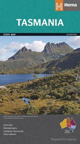 Tasmania State  1 : 480 000 (Map-tasmanien)