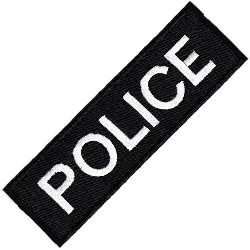 Aufnäher Bügelbild Aufbügler Iron on Patches Applikation Uniform US Police Polizei Abzeichen Bügelbild (Patches Für Die Polizei)