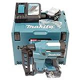 Makita DBN600RTJ - Clavadora (64 mm, 18,0 V, 5,0 Ah, incluye 2 baterías y cargador)