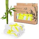 Set di asciugamani da bagno in bambù, per bambini, per ospiti, antibatterici, ipoallergenici, morbidi