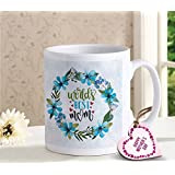 TiedRibbons Gift For Mother | Gift For Mother In Law | Gift For Mothers Day | Mothers Day Gifts | Printed Coffee Mug With Mothers Day Special Wooden Tag
