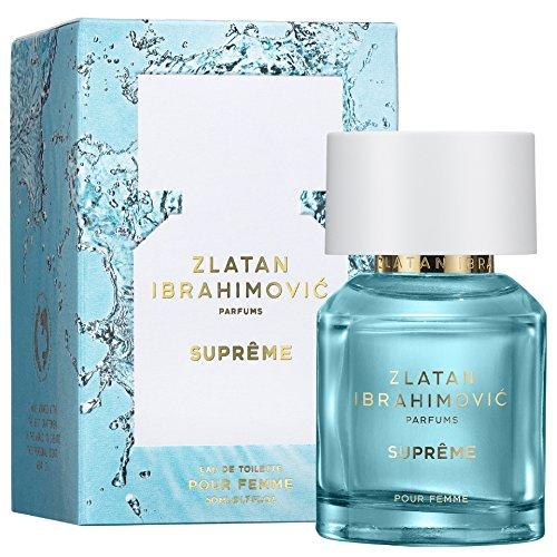 ZLATAN SUPREME Pour Femme 50 ml - Parfüm für Damen aus der Kollektion von Zlatan Ibrahimovic - Eau de Toilette / Parfum für Frauen - Blumiger, zeitgemäßer Damenduft