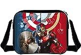 Captain America Tasche Civil War Messenger Bad Ironmanica Umhängetasche Schultertasche
