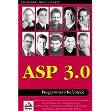 Asp 3.0 Programmer's Reference by Dan Denault (1999-04-15)