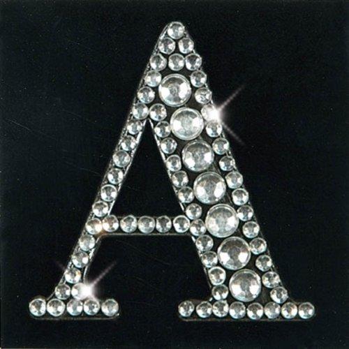 Artoz CREA motions Monogramm Sticker Kristall (Strass),