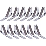 eBoot 12 Pack Clips de Acero Inoxidable Mantel Pinza para Mantel Cubierta