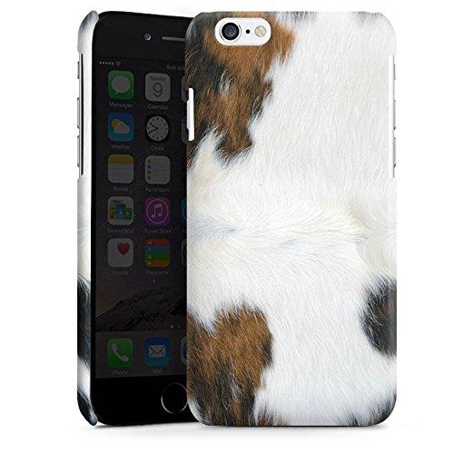 Apple iPhone 5s Housse Outdoor Étui militaire Coque Peau de vache Vache Look Cas Premium brillant