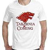 Camiseta chico Tabarnia is Coming (S, Blanco)