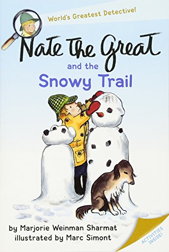 Nate the Great and the Snowy Trail (Nate the Great Detective Stories)