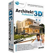 Avanquest Architekt 3D X5 Professional MAC - Software de diseño automatizado (CAD) (DEU, 4900 MB, 256 MB, G3/4/5 Intel-Mac)